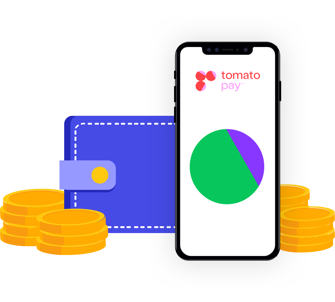 tomato pay App with Wallet